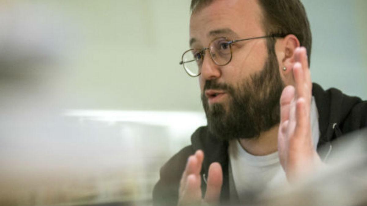 Carlos Macías, ex portavoz PAH
