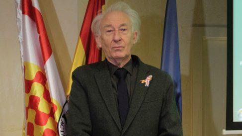 Albert Boadella, presidente de Tabarnia en el exilio. (Foto: Francisco Toledo)