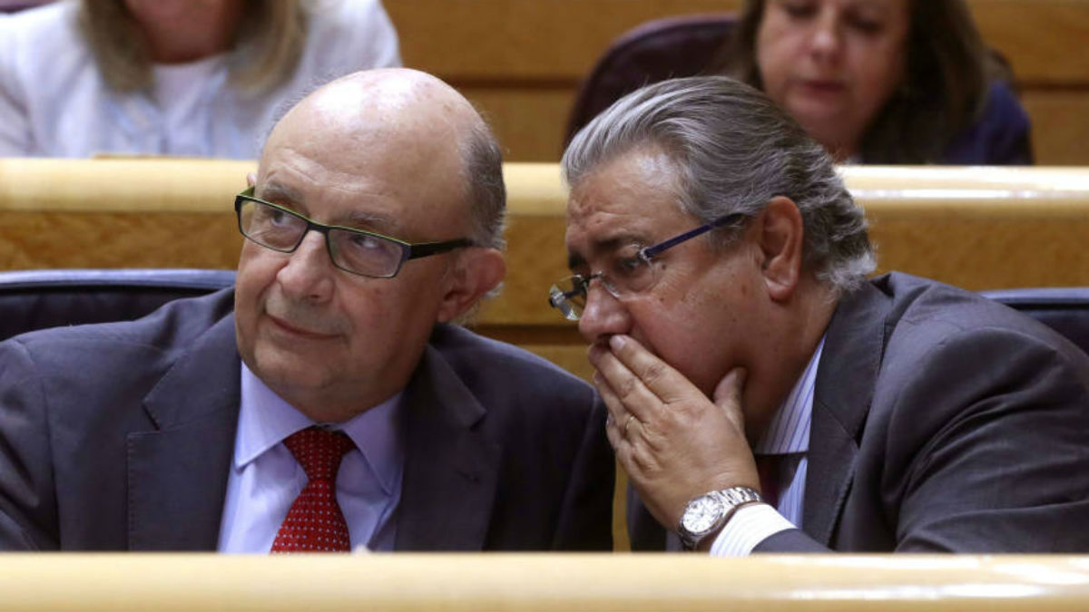 Cristóbal Montoro y Juan Ignacio Zoido