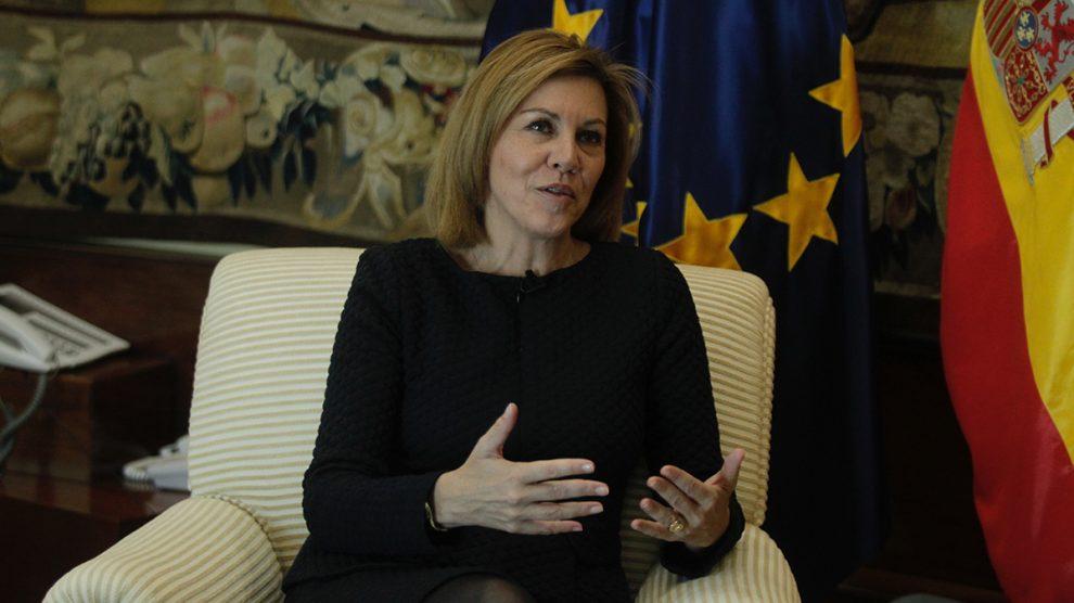 María Dolores de Cospedal, Ministra de Defensa. FOTO: FRANCISCO TOLEDO