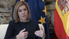 María Dolores de Cospedal, Ministra de Defensa. (Foto: Francisco Toledo)