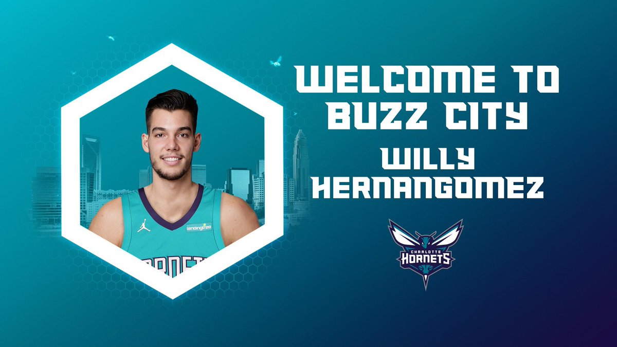 Willy Hernangómez, nuevo jugador de Charlotte Hornets.