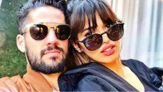 Isco posando junto a su novia, la actriz y modelo. Sara Sálamo (Instagram)