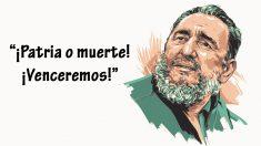 Si por algo es recordado Fidel Castro es por sus discursos de varias horas de duración, en los que pronunció algunas de estas frases