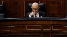 Cristóbal Montoro, en el Congreso.