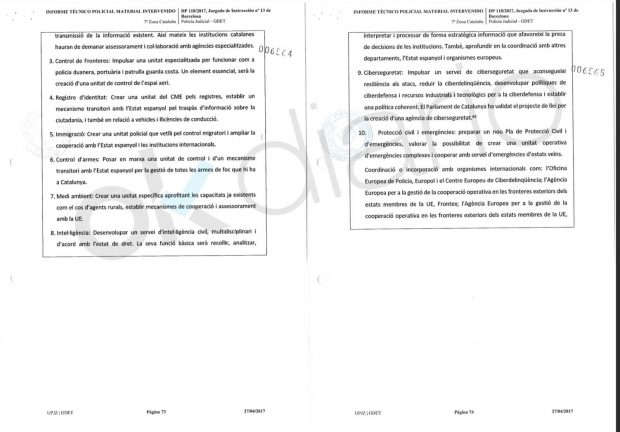 "La Generalitat ordenó a los Mossos echar a la Policía porque eran ""agentes hostiles"""
