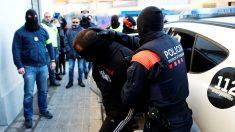 Operación de ls Mossos contra la banda motera de los Ángeles del Infierno. (EFE)