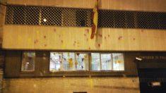 Imagen de la Comisaría de Policía de Tarrasa tras el ataque.