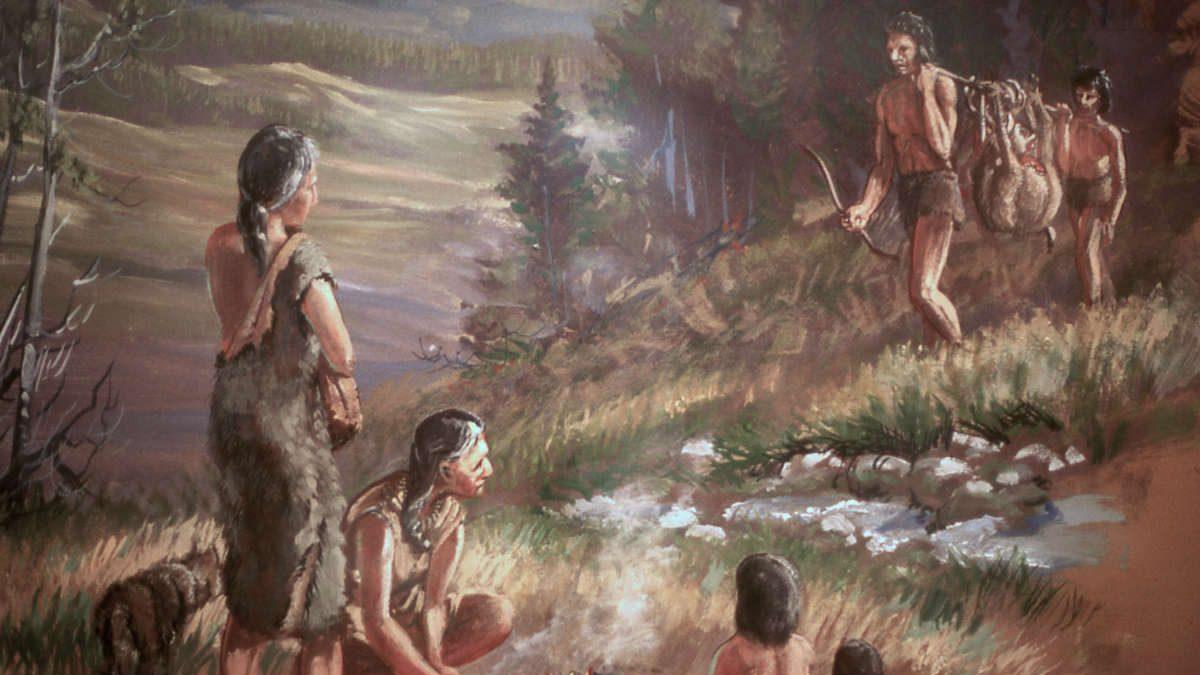 Las sociedades prehistóricas teñían los cabellos como parte de un rito funerario