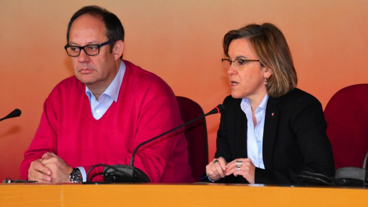 El PSOE pide que se arranque la talla de la Virgen del Abrazo del antiguo Parque Felipe VI