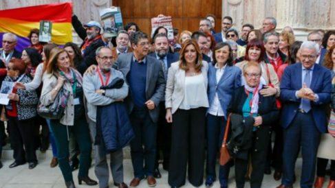 Susana Díaz tras la aprobación de la ley de Memoria Histórica