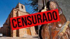 La obra de Antonio Ximénez Muñoz lleva años escondida a los ojos de los que visitan la Iglesia de Santiago El Mayor de Membrilla por decisión de su sacerdote