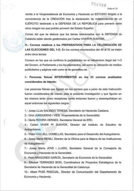 La presidenciable Artadi figura como organizadora del 1-O en los mails interceptados por la Guardia Civil