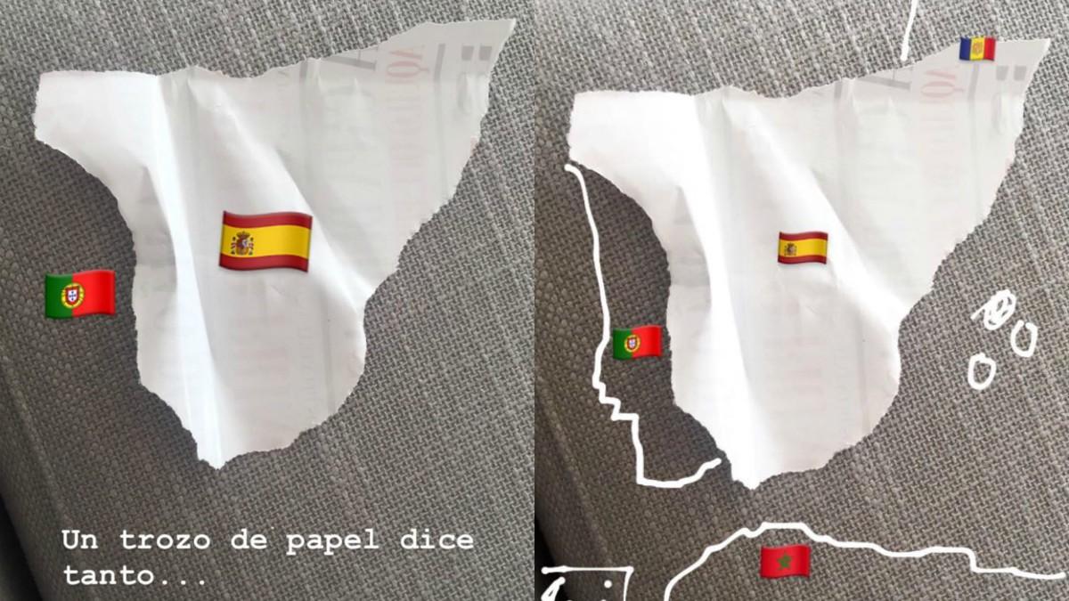 El palo de Iker Casillas a Cataluña a través de Instagram. (@ikercasillas)
