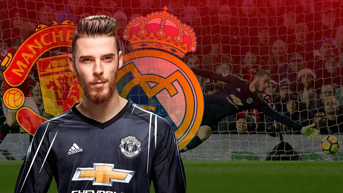 David de Gea, portero del United y objetivo del Real Madrid.