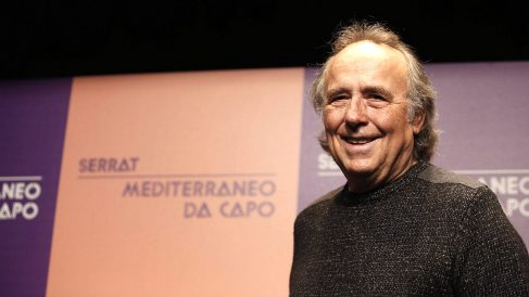 Joan Manuel Serrat, en la presentación de su gira 'Mediterráneo'. (EFE)