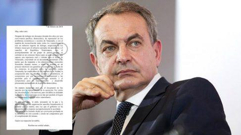 El ex presidente José Luis Rodríguez Zapatero y su carta de presiones a la oposición venezolana.