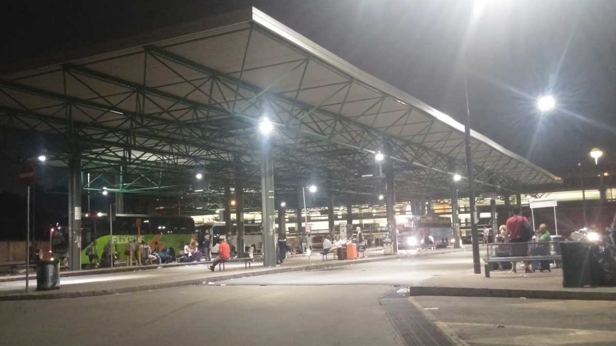 Estación de autobuses de Lampugnano.