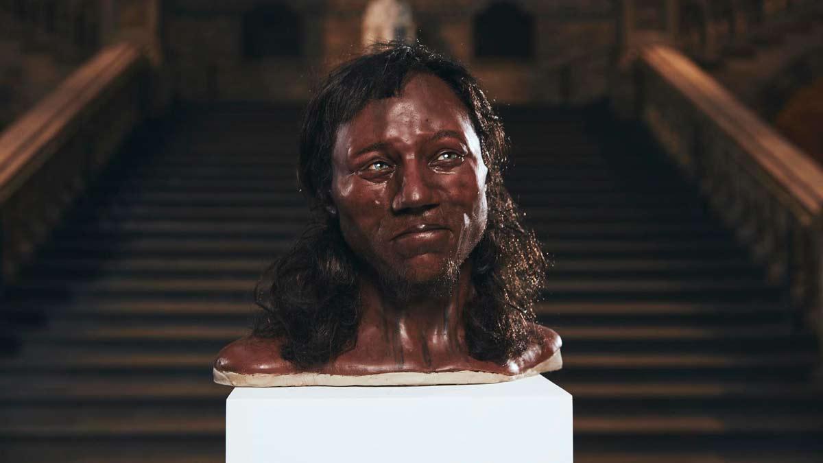 El primer británico de la historia era de raza negra