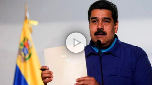 El dictador de Venezuela, Nicolás Maduro