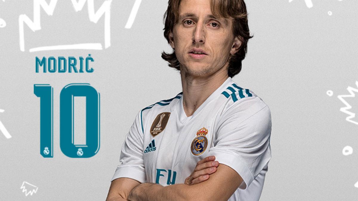 Luka Modric, jugador del Real Madrid.