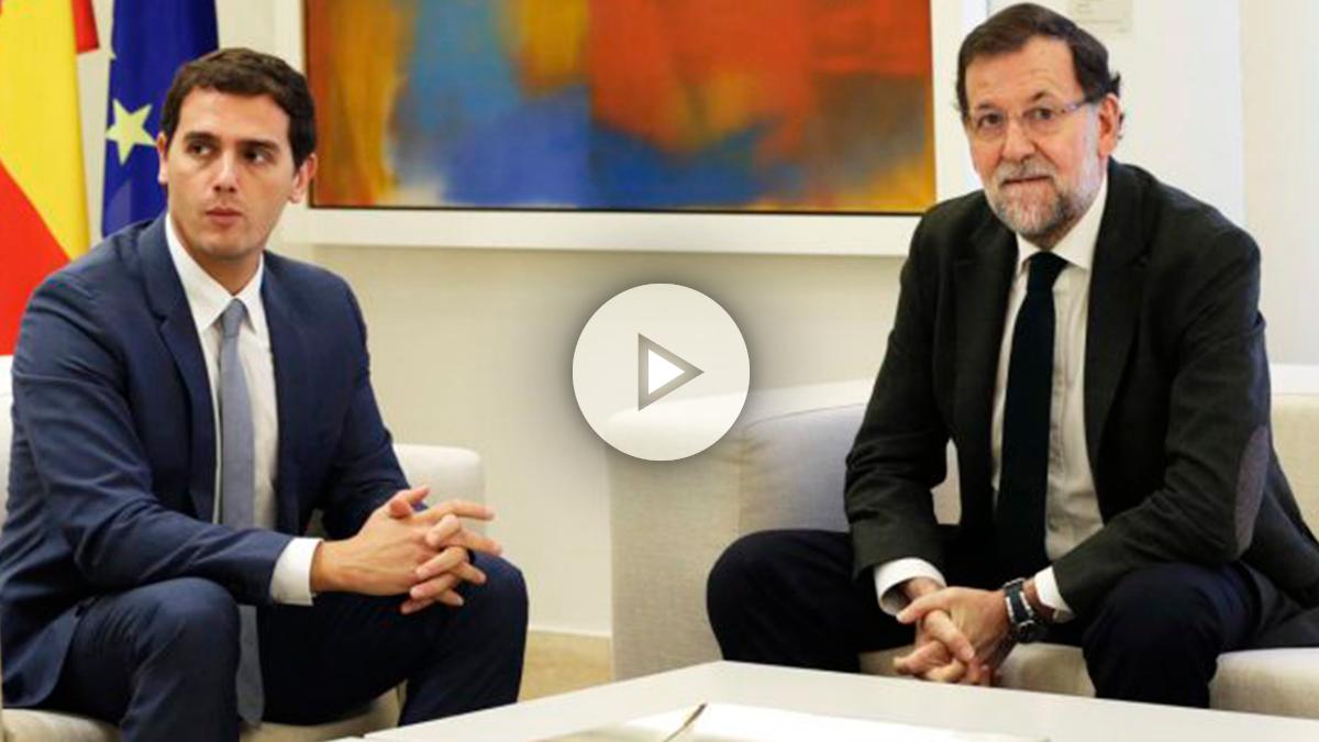 """Rajoy asegura que no tiene """"ningún desencuentro"""" con C's"""