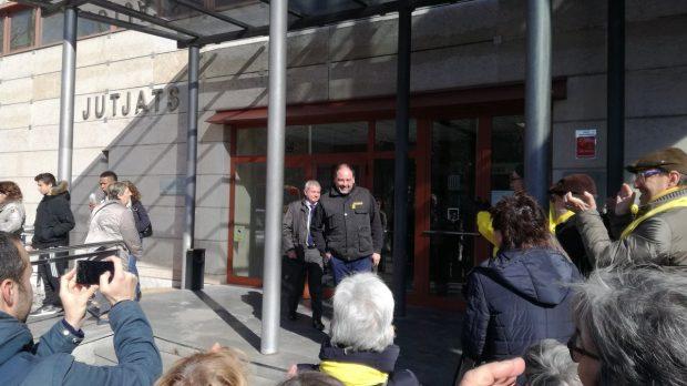 El mecánico del odio en el juzgado con los CDR de Tarragona