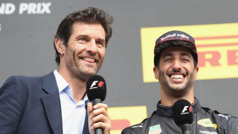 Mark Webber le ha aconsejado a Daniel Ricciardo que se centre en ganar a Max Verstappen, siendo ésta la única manera de conseguir un coche ganador con su próximo contrato. (Getty)