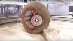 El Spring Tire es un neumático desarrollado por la NASA que podría llegar al mundo de la automoción, y que tiene entre sus principales virtudes que ni se desgasta ni se deforma.