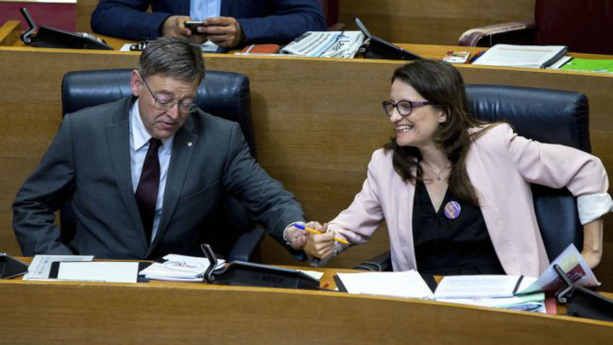 Mónica Oltra, vicepresidenta de la Generalitat valenciana. (Foto: EFE)