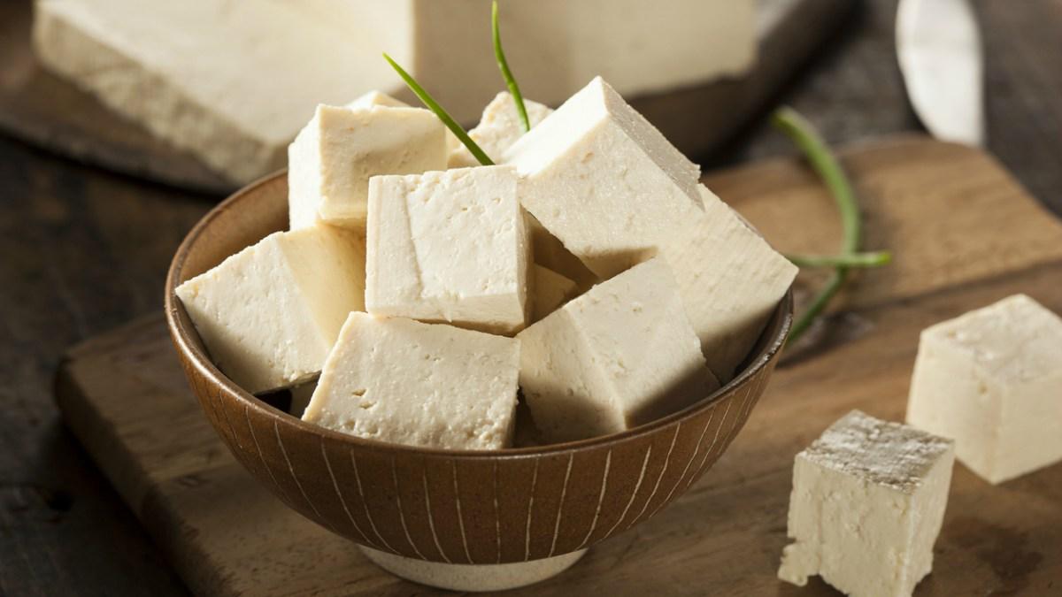 Receta de Tofu: Cómo hacer queso de soja casero