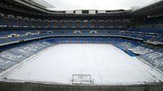 El Santiago Bernabéu será uno de los estadios que registre temperaturas más bajas esta jornada (AFP)