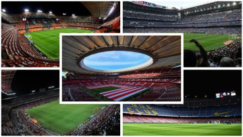 Los estadios candidatos a albergar la final de Copa. (Fotos: Getty Images)