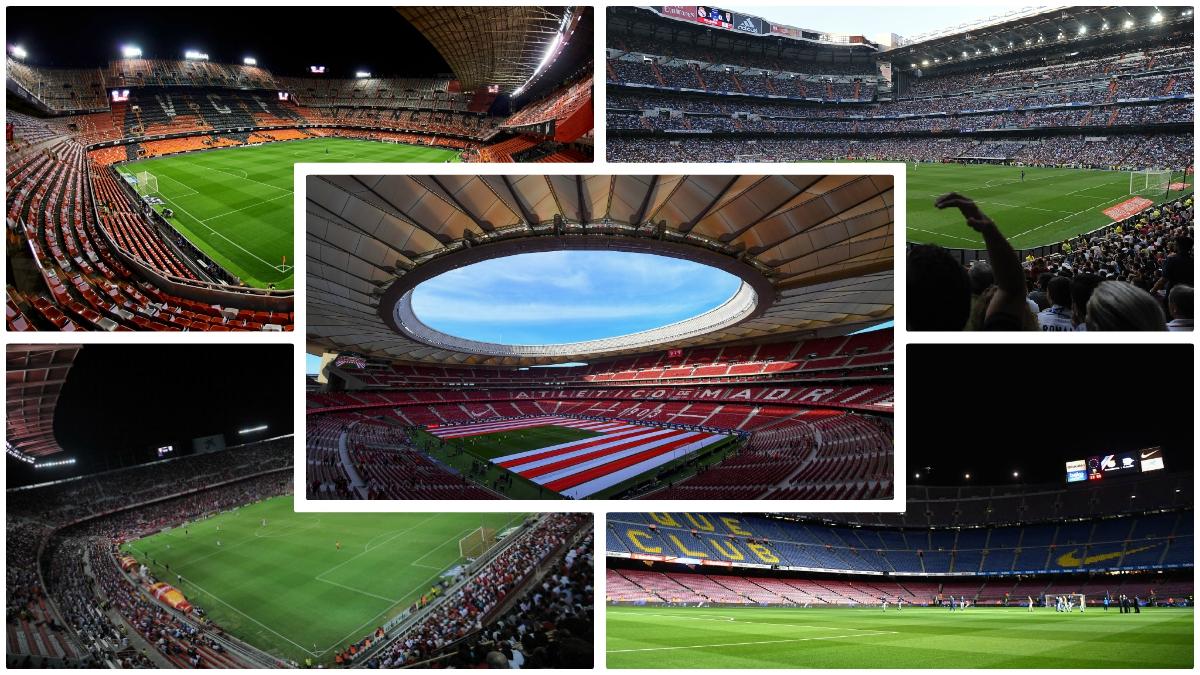 Los estadios candidatos a albergar la final de Copa. (Fotos: Getty Images)