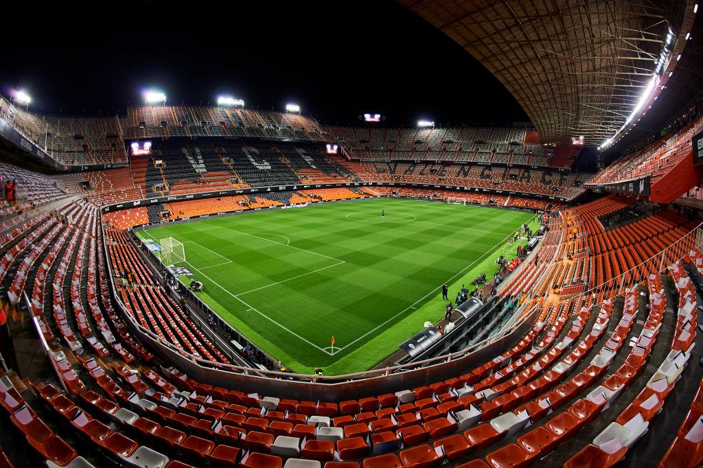 Estadio de Mestalla. (Getty Images)