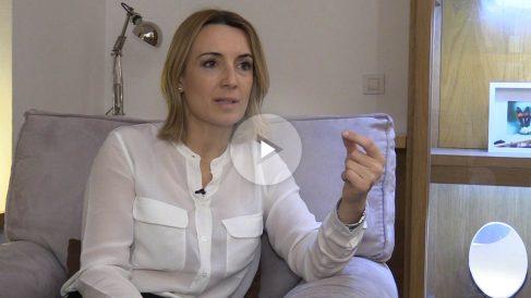 Patricia Ramírez durante la entrevista