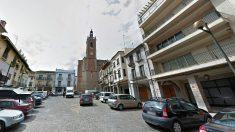 Plaza Mayor de Sagunto (Valencia), donde se produjo el suceso.