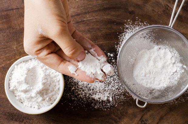 tamizar harina