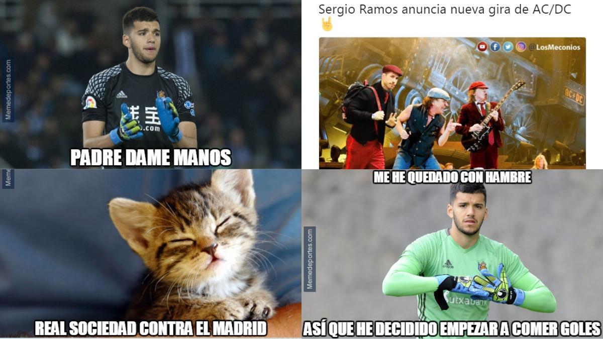 Los mejores memes del Real Madrid vs Real Sociedad.
