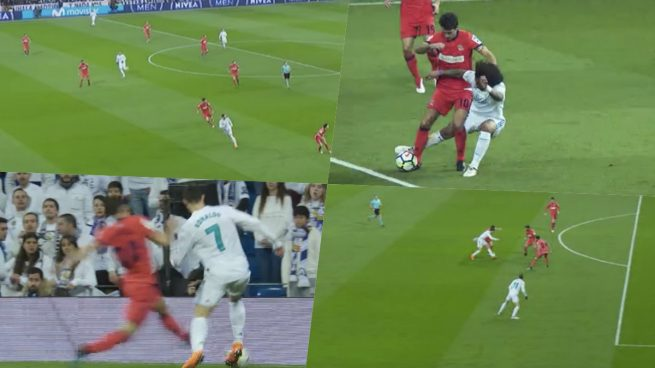 Todas las polémicas: posición legal de Cristiano en el primer gol y penalti de De la Bella no pitado