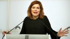Elisenda Alamany, ex portavoz de CatECP en el Parlament. (Foto: EFE)