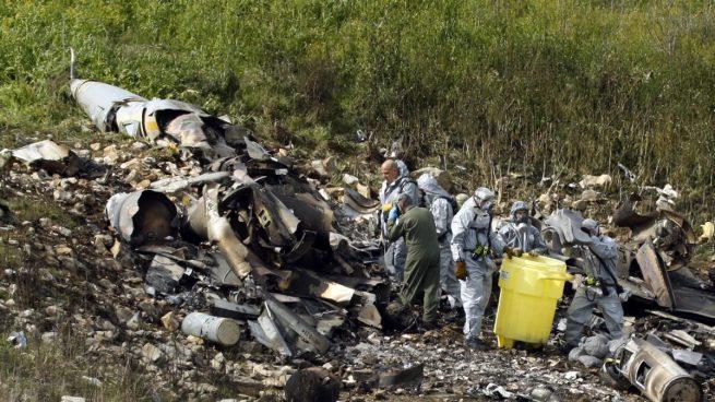 Siria derriba un caza israelí que actuaba contra objetivos iraníes