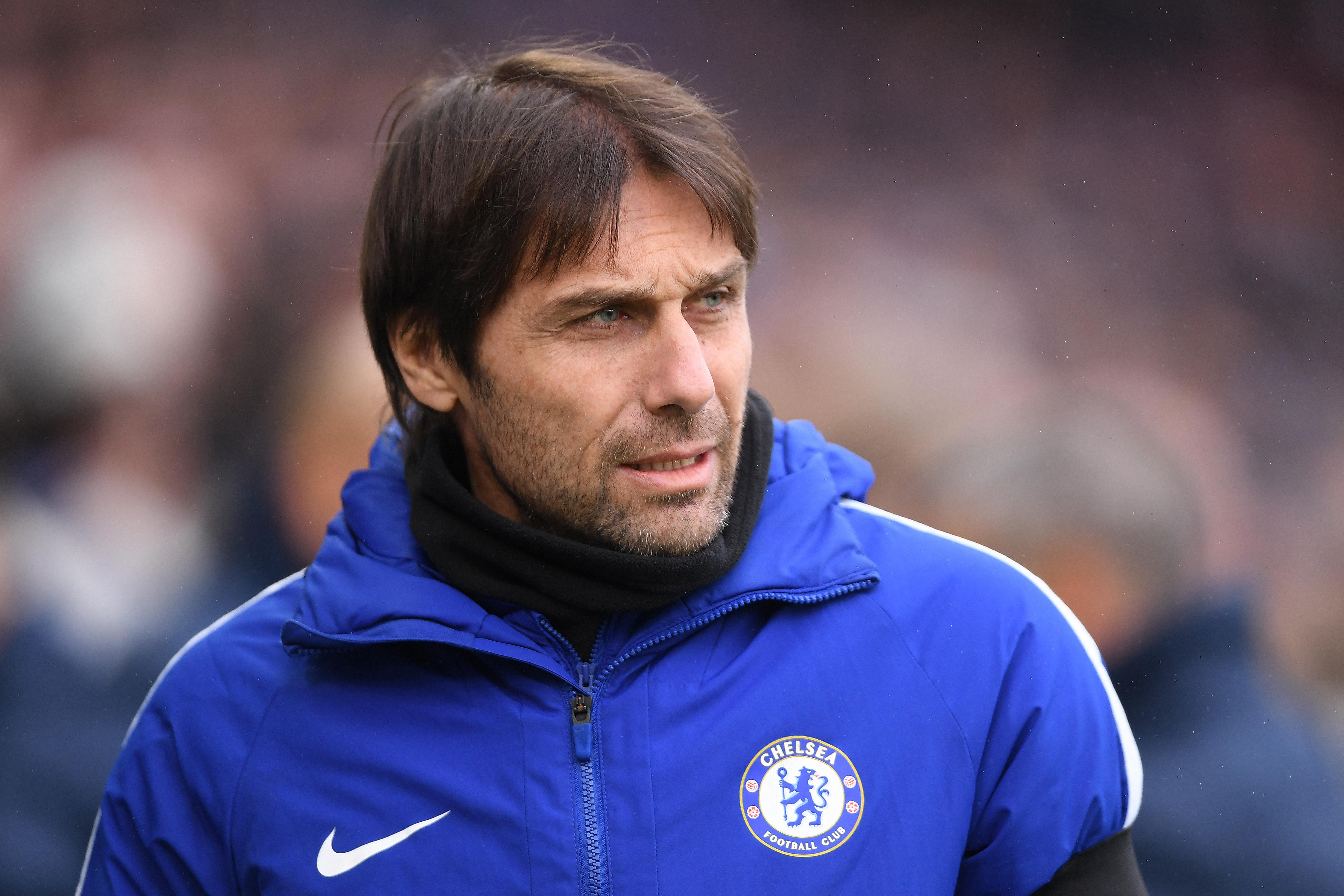 La octava plaza es para Antonio Conte, actual técnico del Chelsea. 635 millones son los que ha gastado el italiano. (Getty)