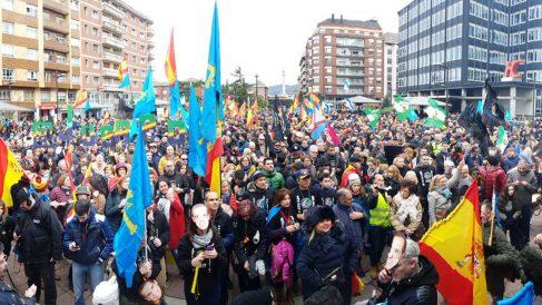 Manifestación de Jusapol.