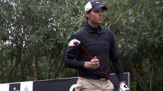 Rafa Nadal sobresale en su faceta como golfista.