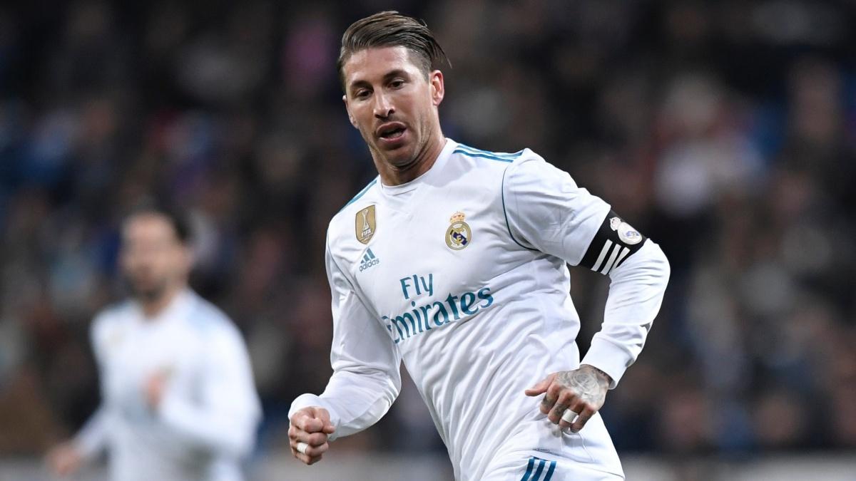Sergio Ramos durante el Real Madrid vs Real Sociedad. (AFP)