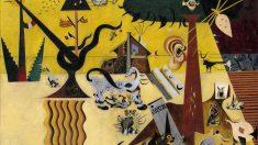 'La tierra labrada' de Joan Miró.
