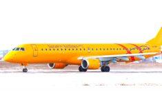 Avión de Saratov Airlines.