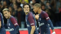 Cavani,-Mbappé-y-Neymar-durante-un-encuentro-(Getty)