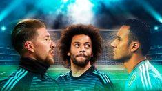 Sergio Ramos, Marcelo y Keylor, hombres clave para que la portería del Real Madrid no encaje goles.